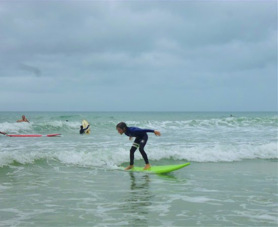 Surf lessons with New Wave NZ Surfboards Gisborne