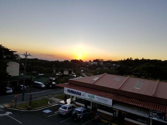 Sabor Tico: sunset