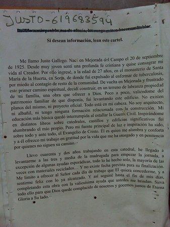Mejorada del Campo, Espagne : Historia de Justo Gallego.