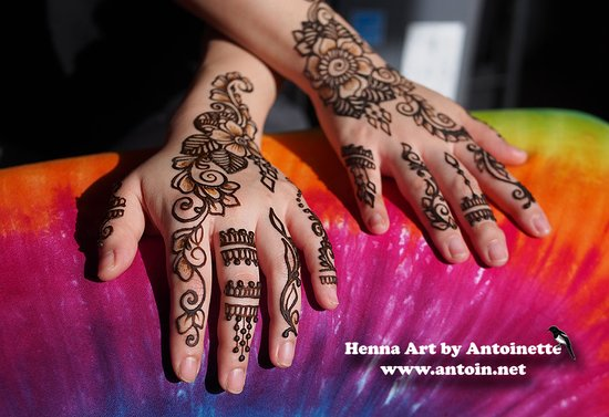 Henna Isn T Just For Hands And Feet You Can Get Stunning Pieces On