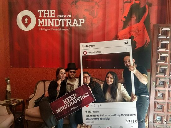 The MindTrap Heraklion: The biggest escape room in Europe!