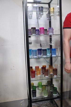 Huta Szkła Kryształowego Julia: Ulubione w Maroku kolorowe szklaneczki