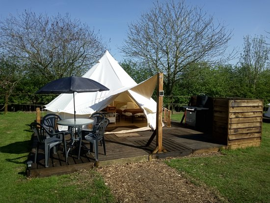 Brome, UK: New this year, your own private decking.