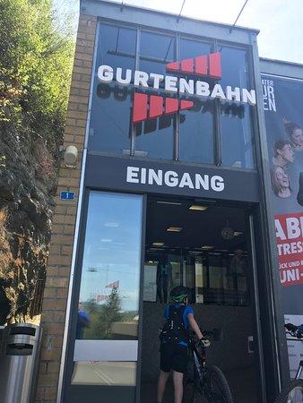 Gurten - Park im Grünen: Talstation der Bahn
