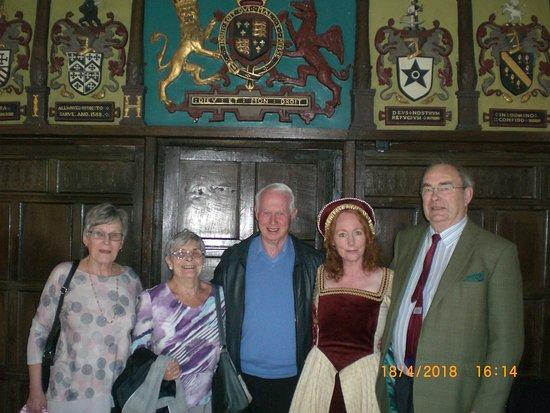 "Samlesbury Hall: Lady Jane has "" Royal Hair"" and a vivacious personality that puts you at ease"