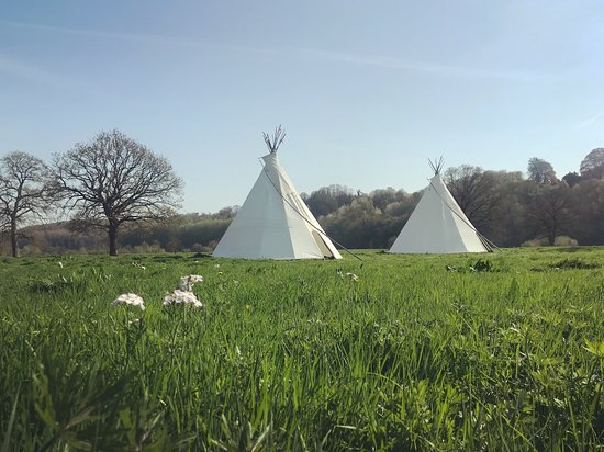Ross-on-Wye, UK: New tipis for 2018!