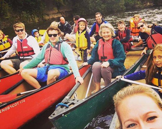Ross-on-Wye, UK: Fun on the River Wye