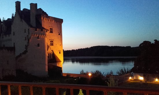 Montsoreau, Francia: Le cadre enchanteur....