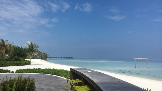 North Male Atoll: View from the bar!