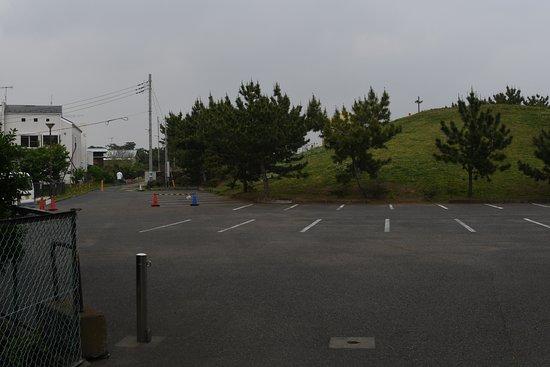 Chigasaki, Japonia: 駐車場は結構広い