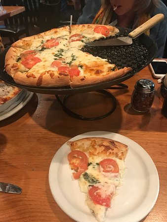 Joe's Pasta: This was the Small Margherita Pizza! Amazing!