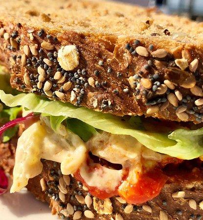 Overveen, Ολλανδία: roasted chicken sandwich