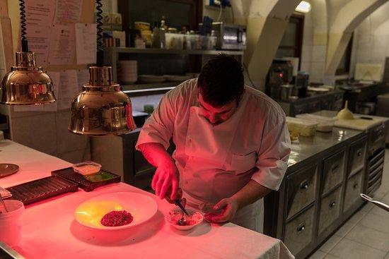 Sillavengo, Italia: Chef Maurizio D'Andretta