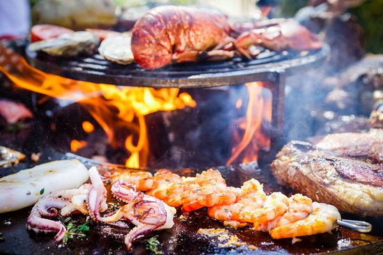 Le Tignet, Frankrike: BBQ Rio je taime de poisson