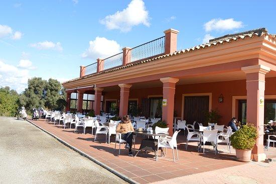 Pueblo Nuevo de Guadiaro, Spain: Terraza - La Cañada