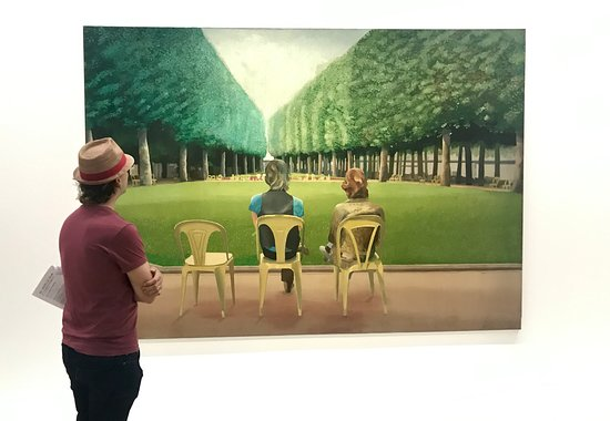 Oakham, UK: Exclusively David Hockney