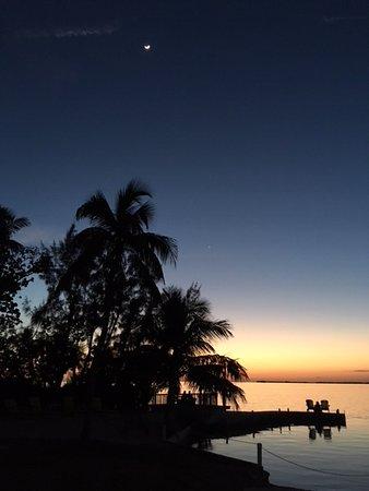 Bay Harbor Lodge: Dusk after sunset