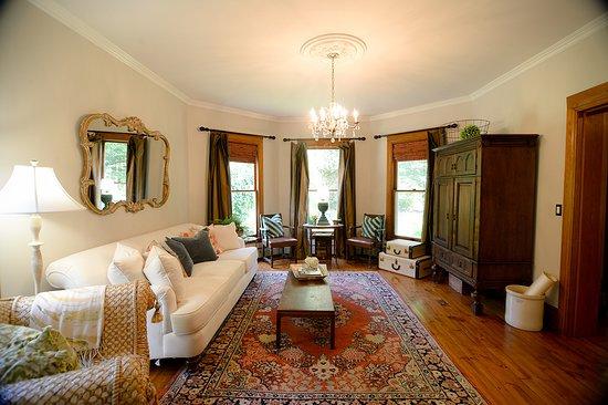 Newfield, NY: The Living room