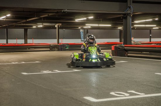 Racing The Track Picture Of R1 Indoor Karting Lincoln Tripadvisor