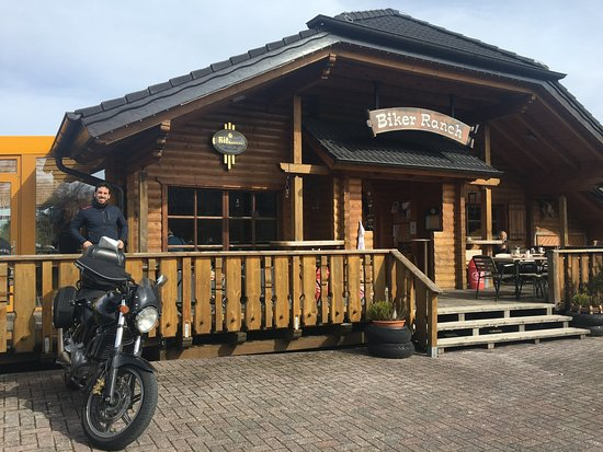 Simmerath, Duitsland: Biker Ranch exterior
