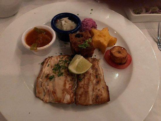 Rozendaels Original Cuisine : Caribbean fish with goodies