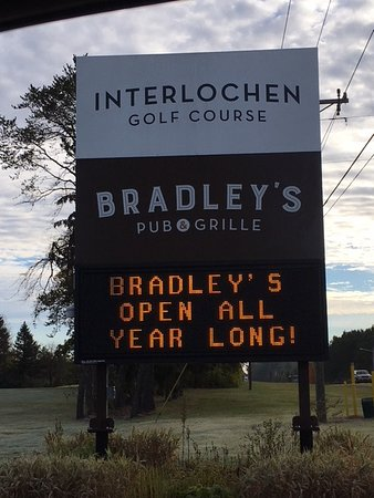 Bradley's Pub & Grille at the Interlochen Golf Course