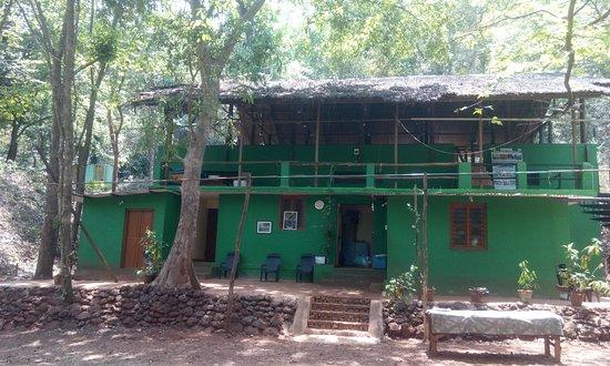 Ganeshgudi, الهند: Dining area