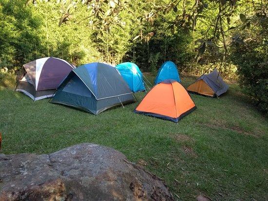 Tijucas do Sul, PR: camping