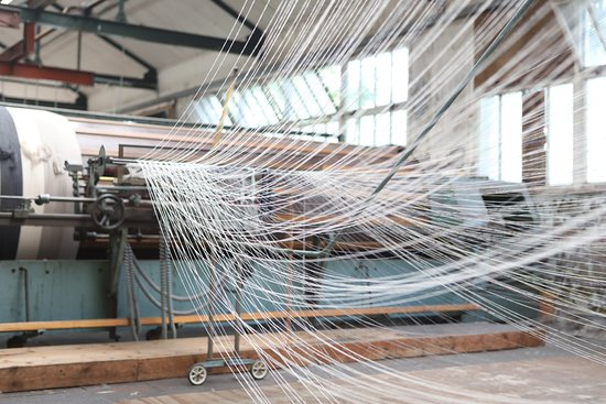 Foxford Woollen Mills & Visitor Centre: Running the Swift.