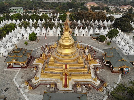 Mandalay City Taxi Services: Kuthodaw Pagoda ( World Biggest Book )