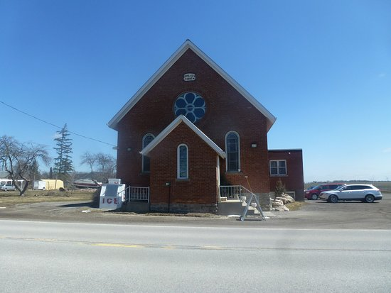 Cayuga, Canada: Shelley's Dining Room - In A Converted 1897 Rural Church