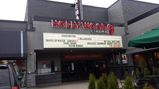 Pitt Meadows, Canada: Photo from parking lot.   Theater just off Loughneed hwy at Harris Road.