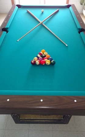 Saint David, AZ: Billiards in our clubhouse 24 hours.