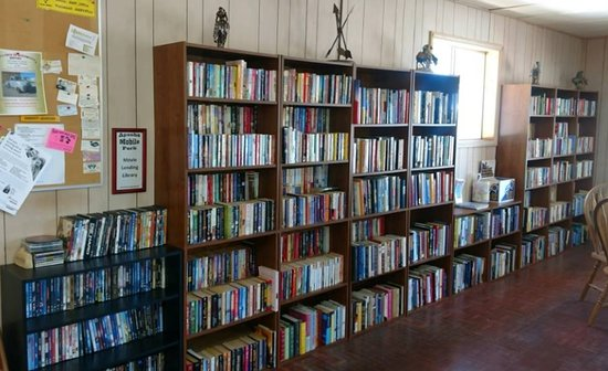 Saint David, AZ: Large free library.