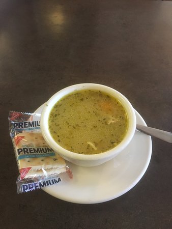 Endwell, Nova York: Chicken and rice soup