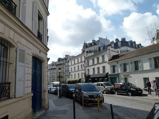 Van Gogh's House: Rue Lepic