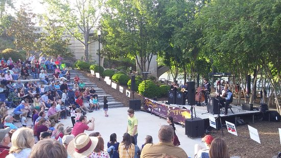Rhythm on the River Concert Series, West Columbia Riverwalk, April 2018