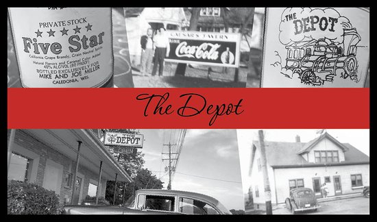 Caledonia, Ουισκόνσιν: The Depot Tavern serving classic cocktails & delicious food since 1936!