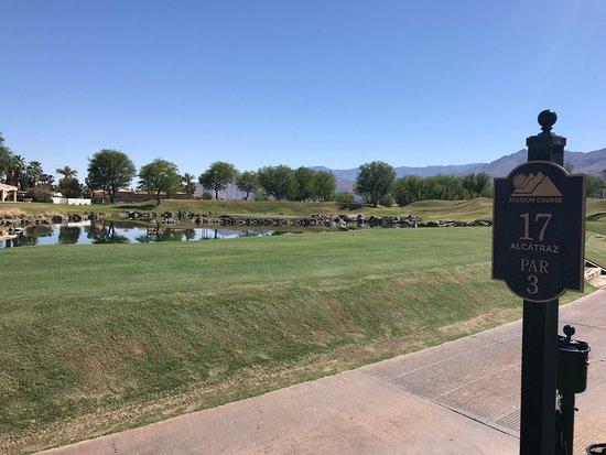 PGA West TPC Stadium Golf Course: Number 17