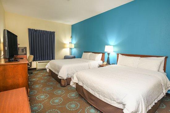 Williamston, Carolina del Norte: Two Queen Beds Room