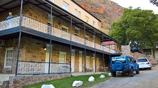 Citrusdal, South Africa: Accommodation apartments in the newly renovated stone building.