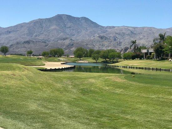 PGA West TPC Stadium Golf Course: Water hazards abound