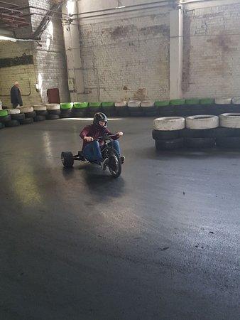 Drifta Halle (Drift Hall): Drifting 3