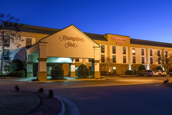 Williamston, NC: Hotel Front Entrance