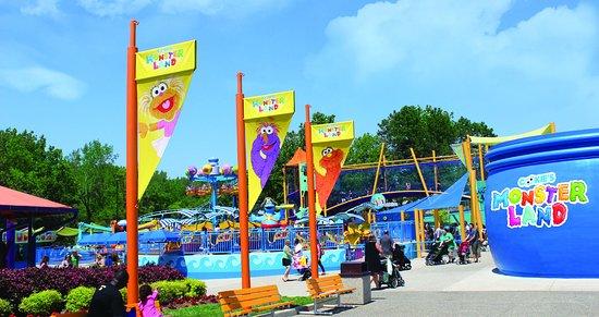 Лангхорн, Пенсильвания: Cookie's Monster Land at Sesame Place