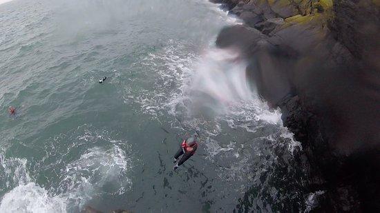 Harlech, UK: Coasteering with Adrenalin Addicts