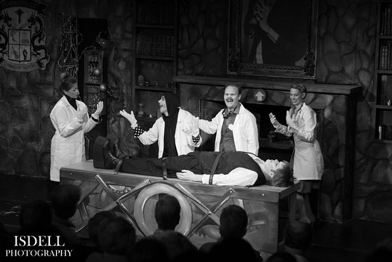 Onancock, VA: 2017 Production of Young Frankenstein. Photo by  Isdell Photography.