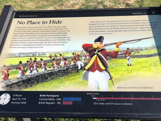 Massachusetts: Informative signs along the way