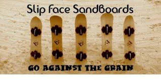 Fort Garland, CO: Slip Face Sand boards Rentals