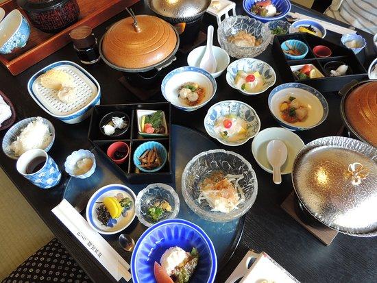 Shunkei Roman Gimpaso : 朝食